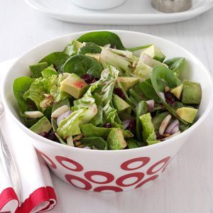 Cranberry-Avocado Tossed Salad Recipe