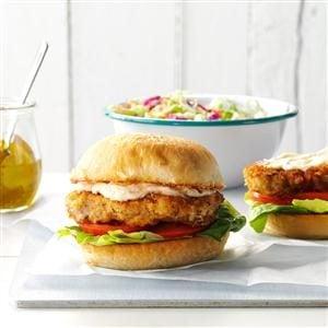 Crispy Pork Tenderloin Sandwiches Recipe