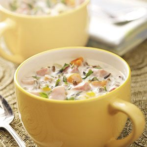 Wild Rice and Ham Chowder Recipe