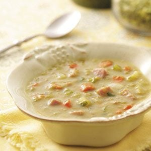 Split Pea and Ham Soup Recipe photo by Taste of Home