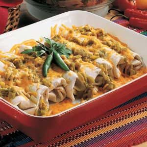 Green Chili Burritos