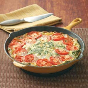Potato & Bacon Frittata Recipe