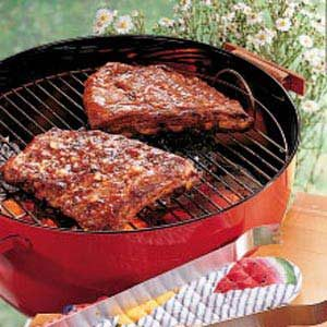 Contest-Winning Barbecued Spareribs Recipe