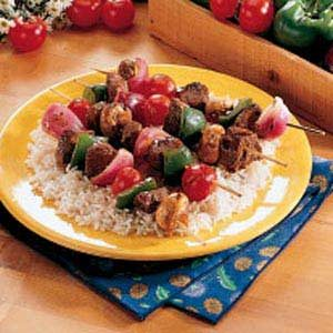 Teriyaki Beef Kabobs Recipe