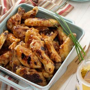 Maple-Glazed Chicken Wings Recipe