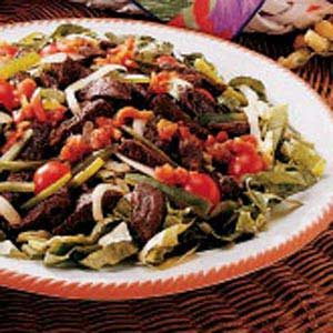 Zesty Steak Salad Recipe