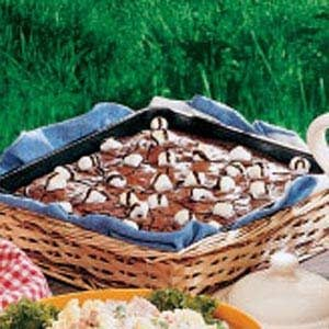 Really Rocky Road Brownies