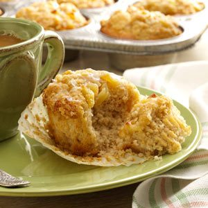 Dutch Apple Pie Muffins Recipe
