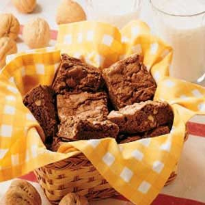 Walnut Brownies Recipe