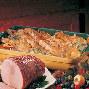 Vegetable Pork Chop Dinner Recipe