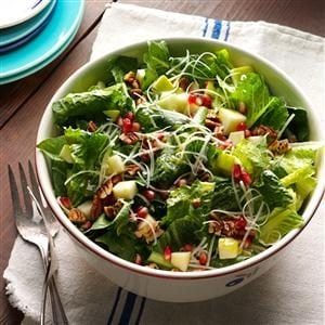Wendy's Apple Pomegranate Salad Recipe