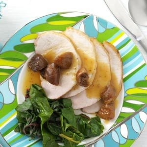 Roasted Pork Loin with Fig Sauce