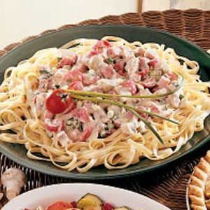 Low-Fat Fettuccine Recipe