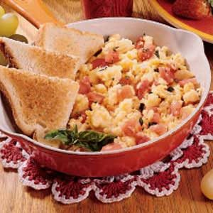 Egg and Tomato Scramble Recipe