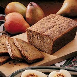 Pear Zucchini Bread Recipe
