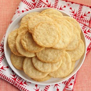 Vanilla Wafer Cookies