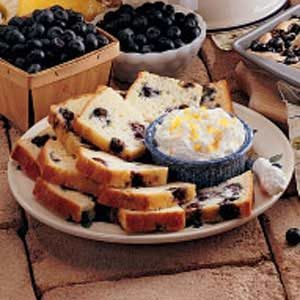 Blueberry Tea Bread Recipe