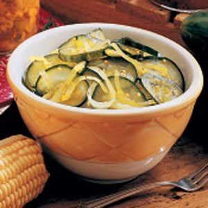Easy Freezer Pickles Recipe