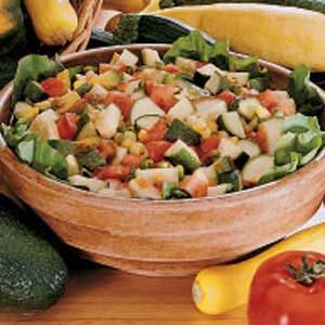 Zesty Gazpacho Salad Recipe