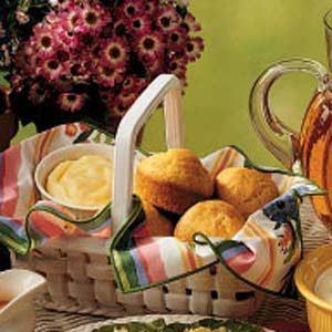 Sweet Cornmeal Muffins Recipe