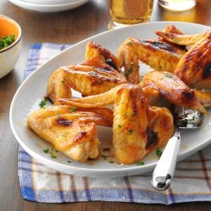 Sweet Gingered Chicken Wings Recipe