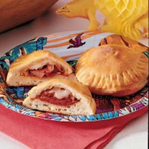 Padysaurus Pizza Pockets Recipe