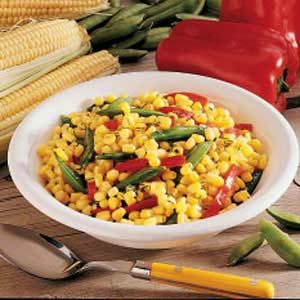 Dilled Corn and Peas Recipe