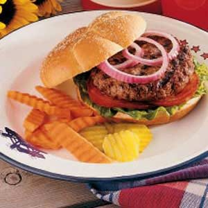 Grilled Burgers Recipe