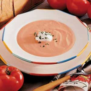 Quick Cream of Tomato Soup Recipe