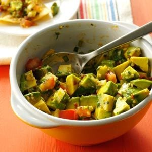 Three-Pepper Guacamole Recipe