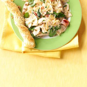 Creamy Italian Pasta with Chicken Recipe