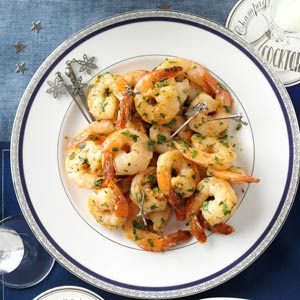 Garlicky Herbed Shrimp Recipe