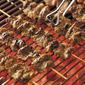 Sesame Pork Kabobs Recipe