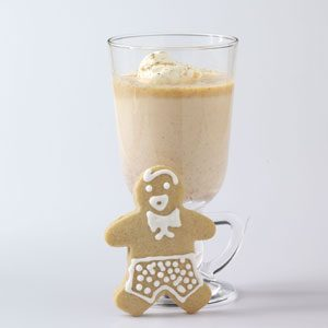 Frosty Pumpkin Nog Recipe