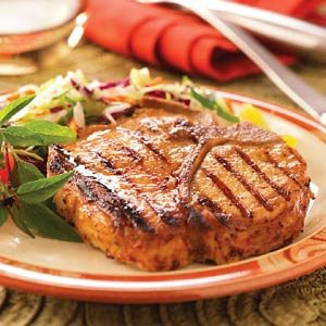 Sweet Mustard Chops Recipe