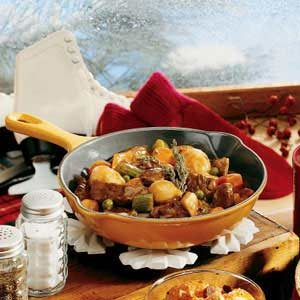 Skillet Beef Stew Recipe
