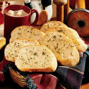 Parmesan Garlic Bread Recipe