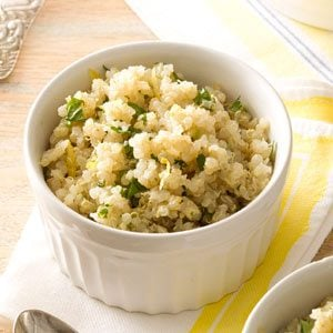 Lemon Herb Quinoa Recipe