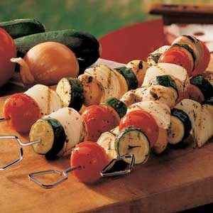 Vegetable Kabobs Recipe