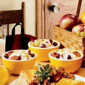 Honey Fruit Cups Recipe