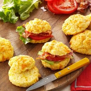 Cornmeal Cheddar Biscuits Recipe | Taste of Home