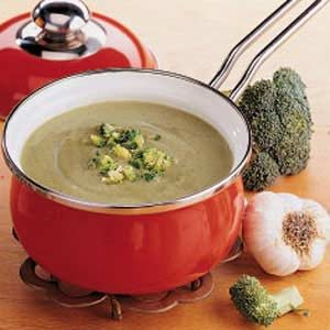 Quick Cream of Broccoli Soup