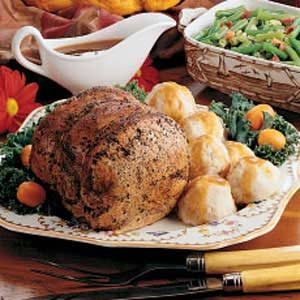 Old-World Pork Roast Recipe
