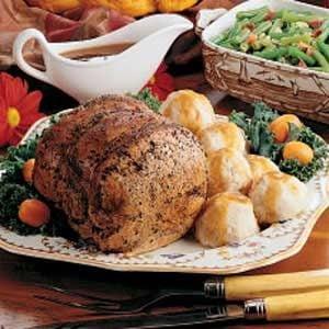 Old-World Pork Roast Recipe
