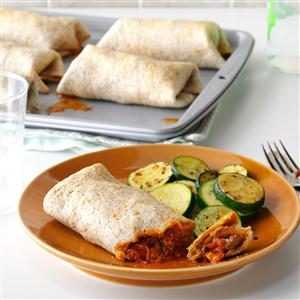 Italian Burritos Recipe