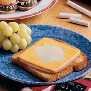 Cheese Cutout Sandwiches Recipe