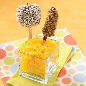 Dipped Fruit on a Stick Recipe