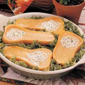 Butternut Boats Recipe
