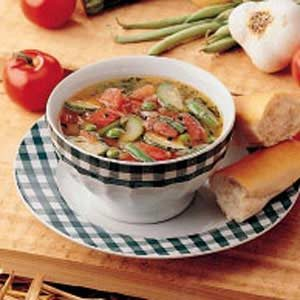 Summer Garden Soup Recipe