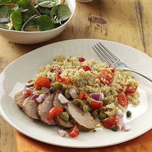 Andalusian Pork Tenderloin Recipe